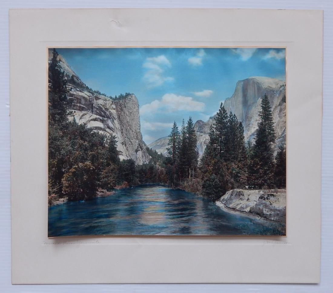 John Marcy Garrison hand-painted photograph - 2