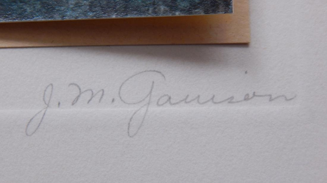 John Marcy Garrison hand-painted photograph - 3