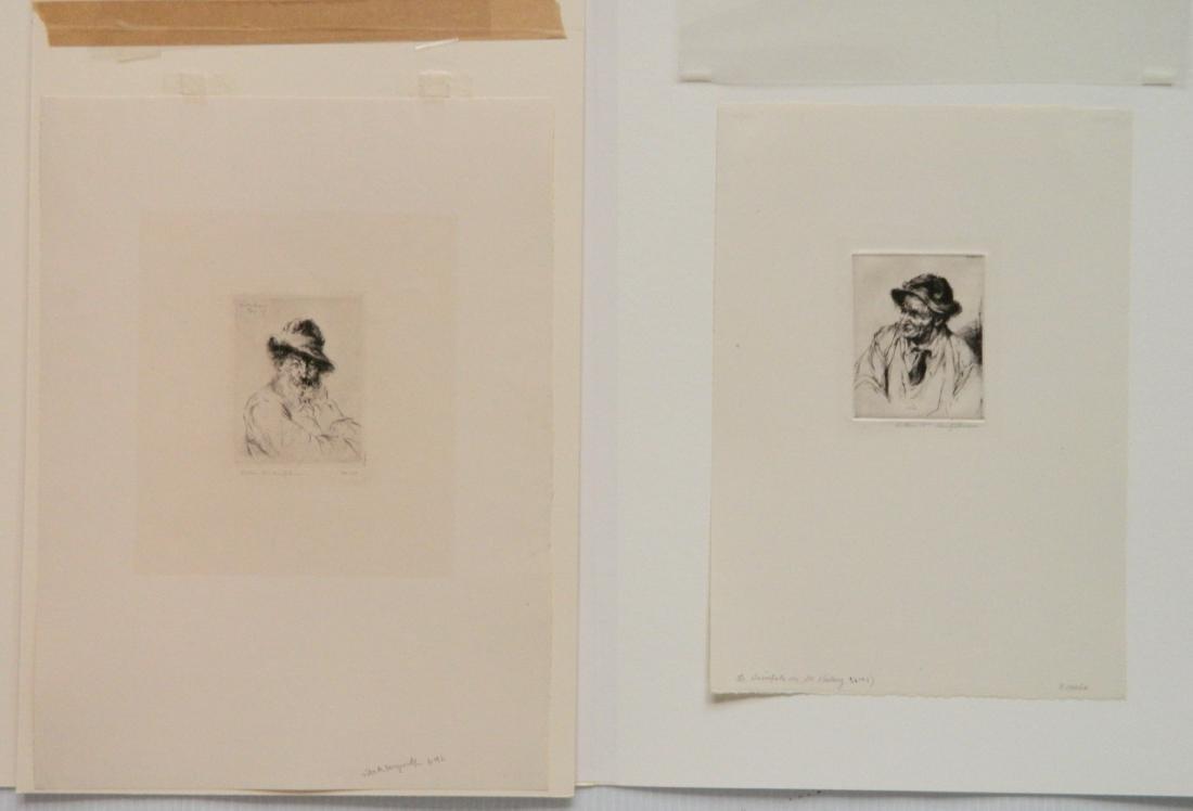 Arthur W. Heintzelman 6 etchings - 2