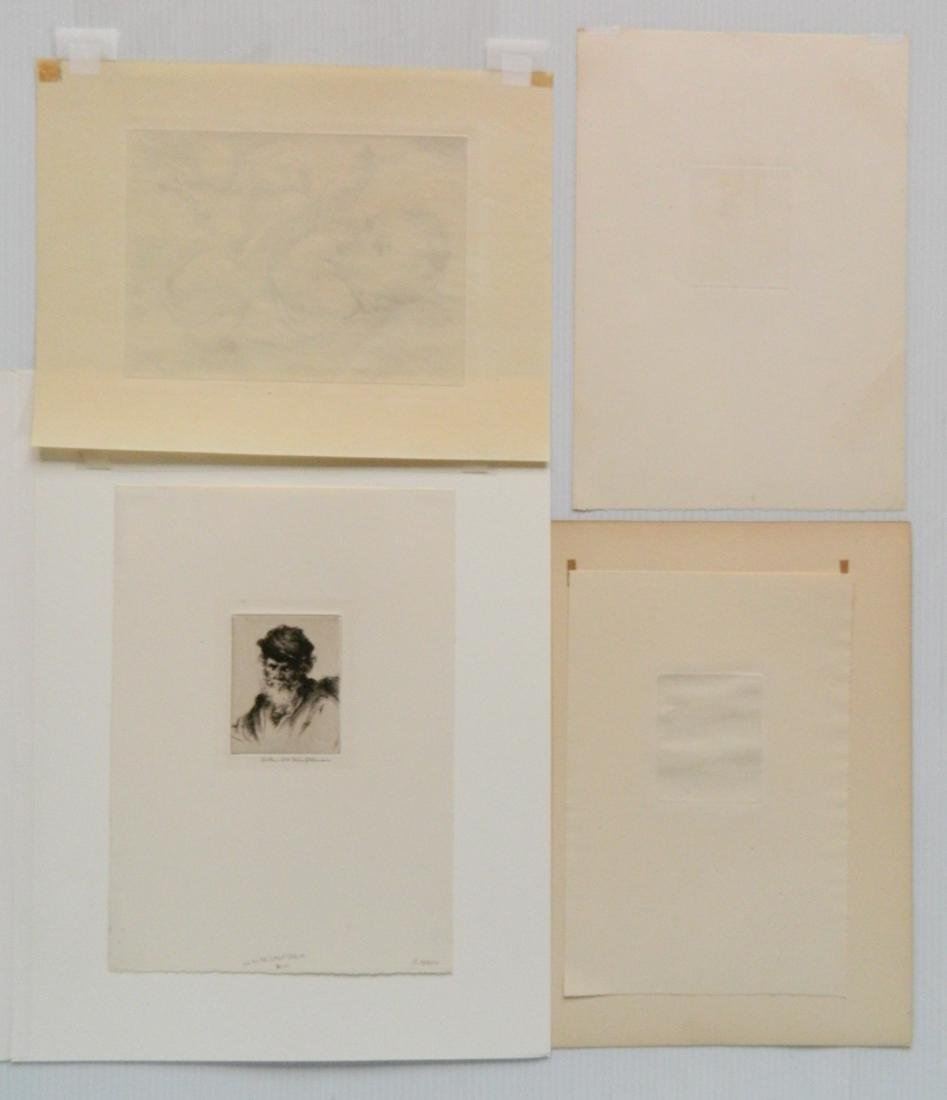 Arthur W. Heintzelman 6 etchings - 5
