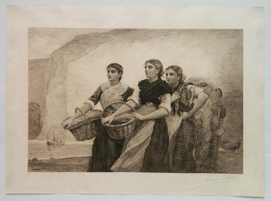 after Winslow Homer engraving - 2