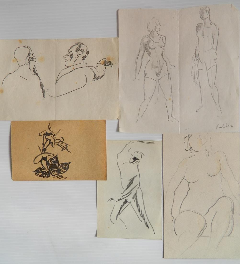 Henry G. Keller works on paper - 2