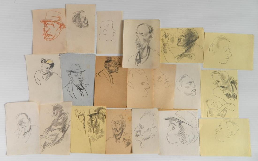 Henry G. Keller works on paper - 4