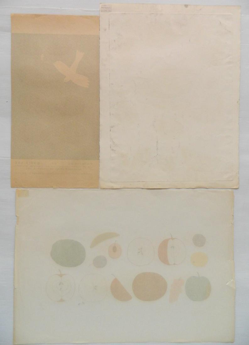 Doris Lee 2 silkscreens - 3