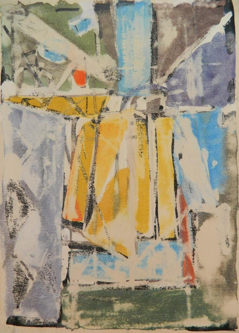 Frank Lengyel 2 watercolors