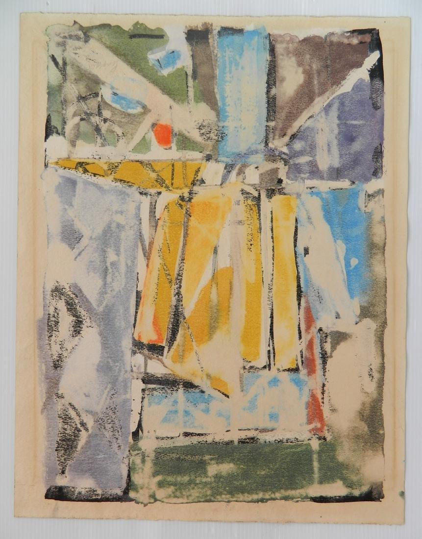Frank Lengyel 2 watercolors - 2