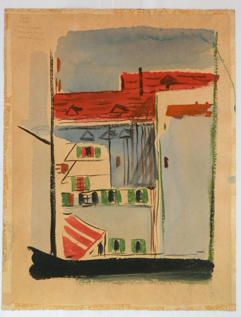 Frank Lengyel 2 watercolors - 4