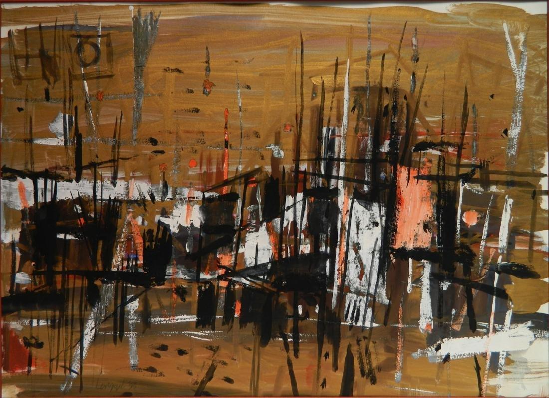 Frank Lengyel 2 watercolors - 5