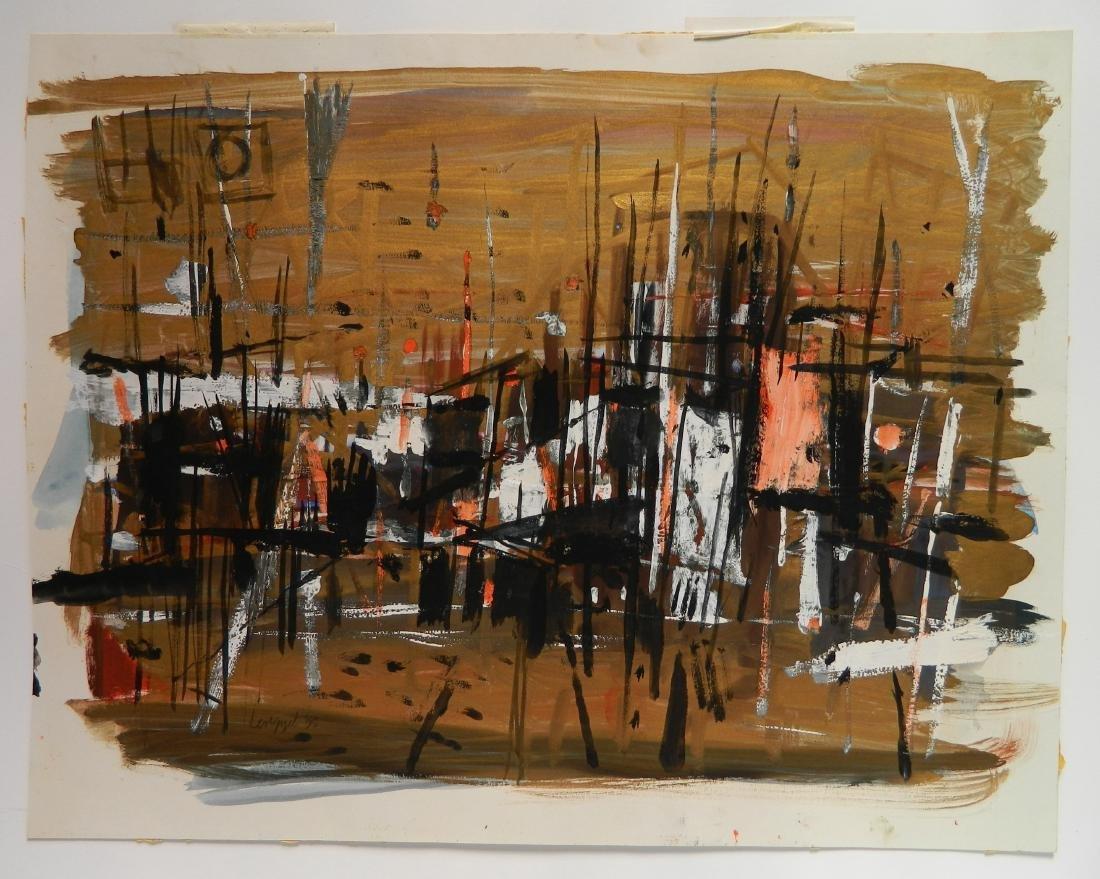 Frank Lengyel 2 watercolors - 6