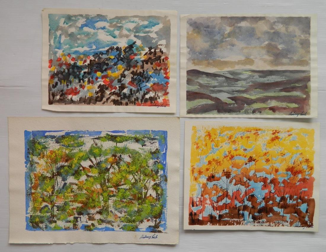 Sidney Loeb watercolors - 4