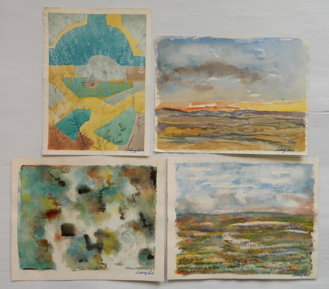Sidney Loeb watercolors - 2