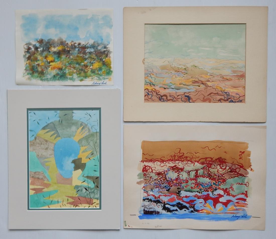 Sidney Loeb 25+ works on paper