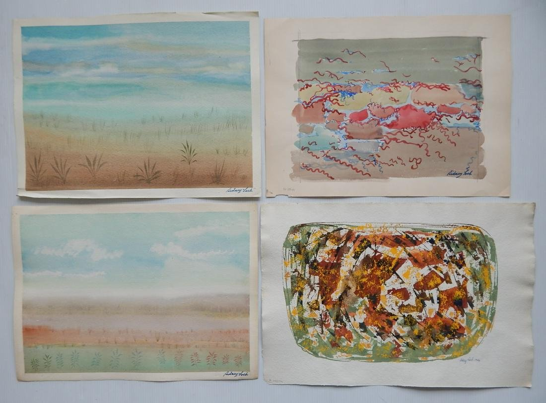Sidney Loeb 25+ works on paper - 2