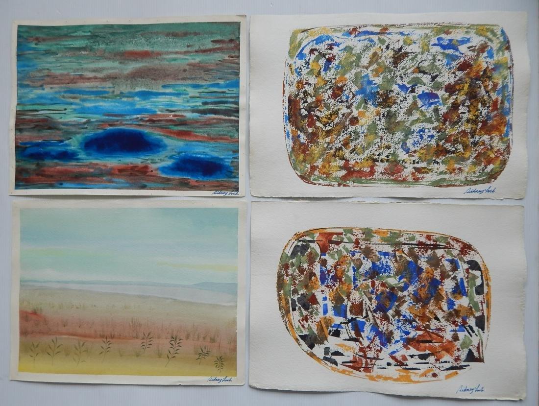 Sidney Loeb 25+ works on paper - 3