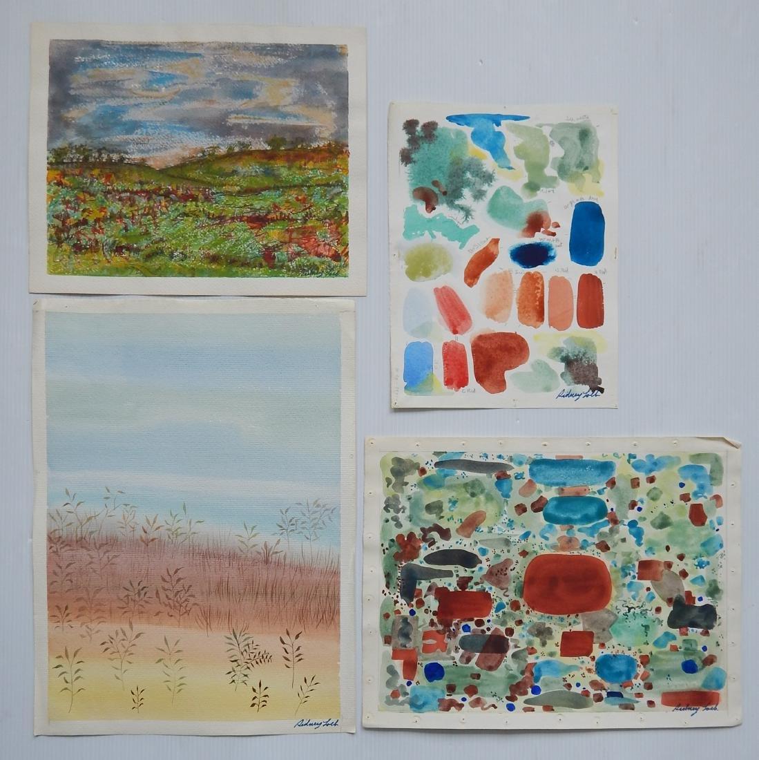 Sidney Loeb 25+ works on paper - 4