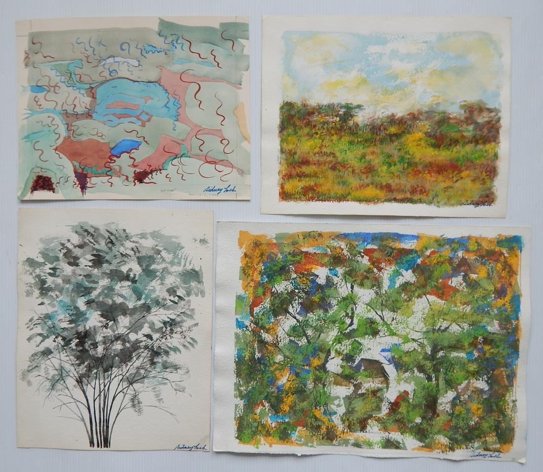 Sidney Loeb 25+ works on paper - 5
