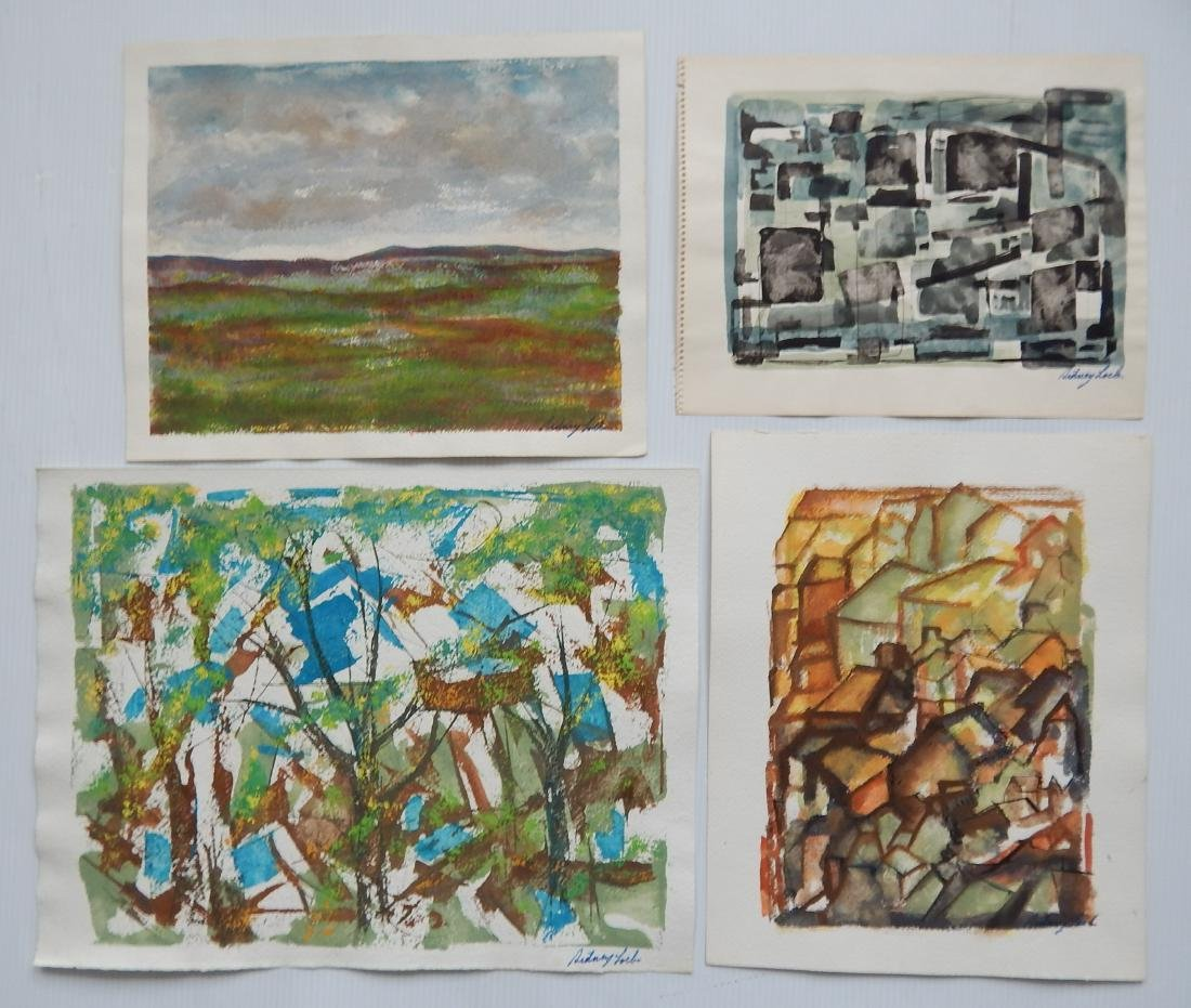 Sidney Loeb 25+ works on paper - 6