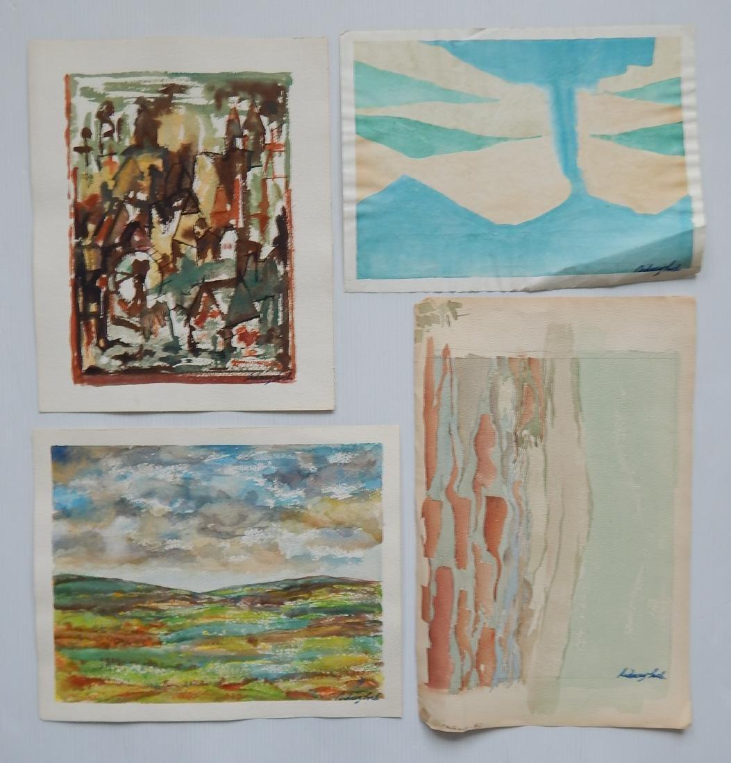 Sidney Loeb 25+ works on paper - 7