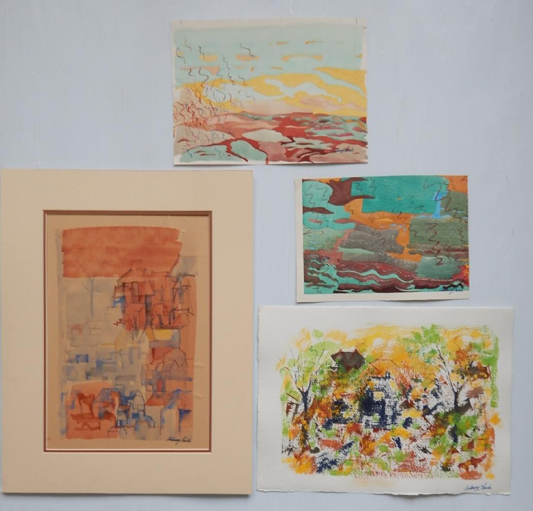Sidney Loeb 25+ works on paper - 8
