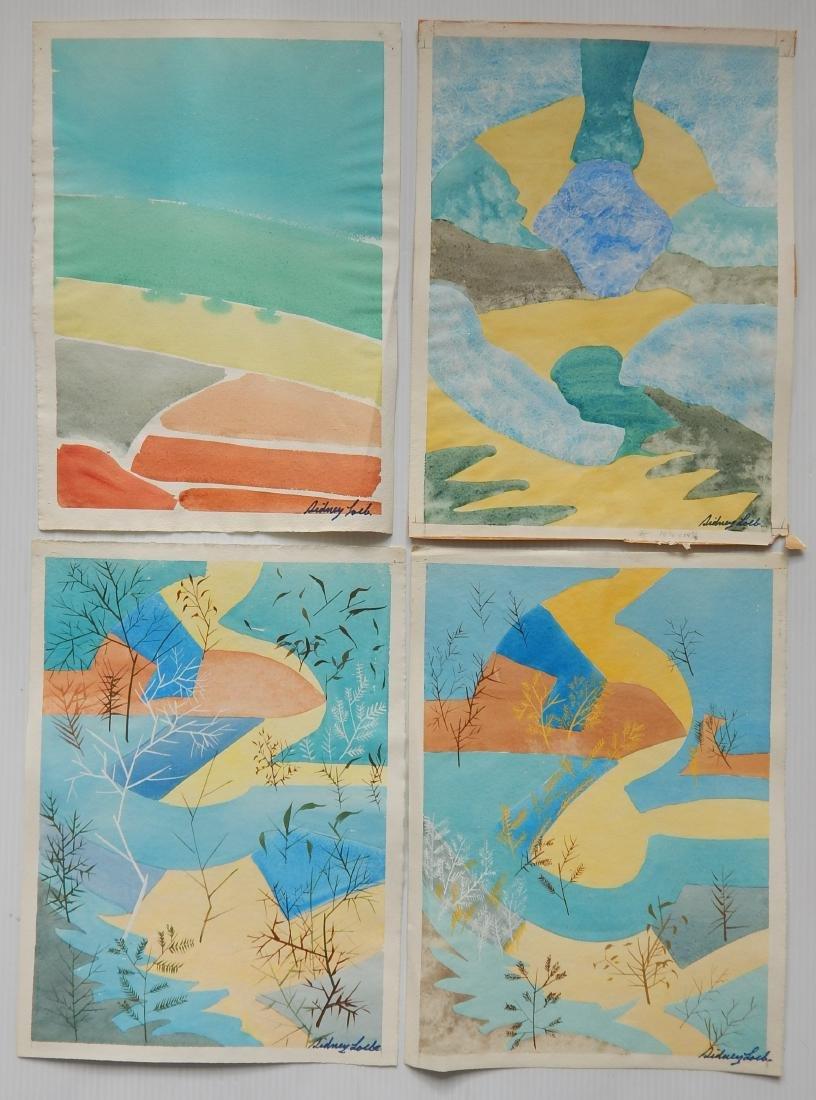 Sidney Loeb 22 watercolor - 2