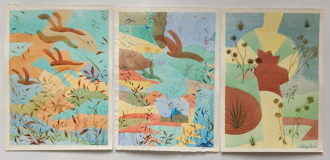 Sidney Loeb 22 watercolor - 5