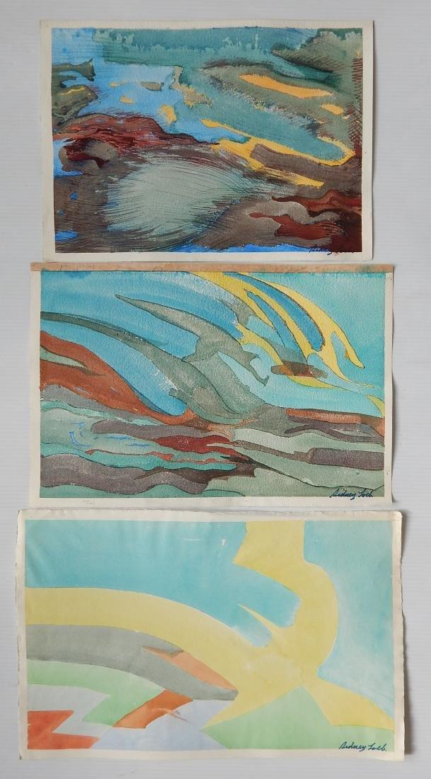 Sidney Loeb 22 watercolor - 6
