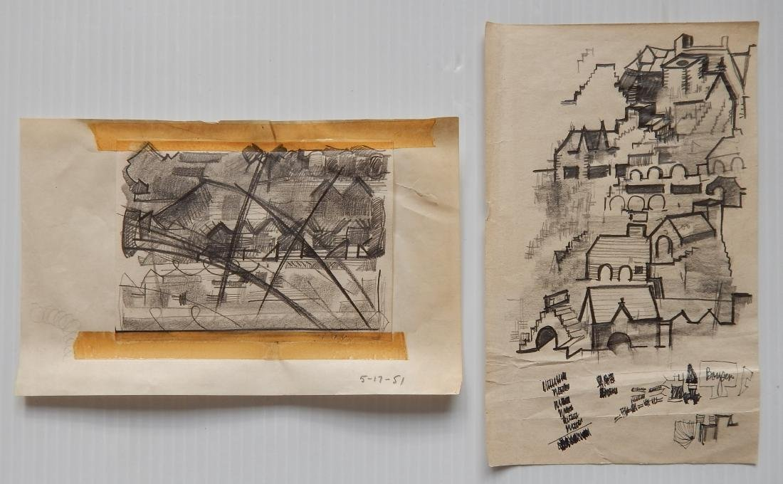 Sidney Loeb 14 works on paper