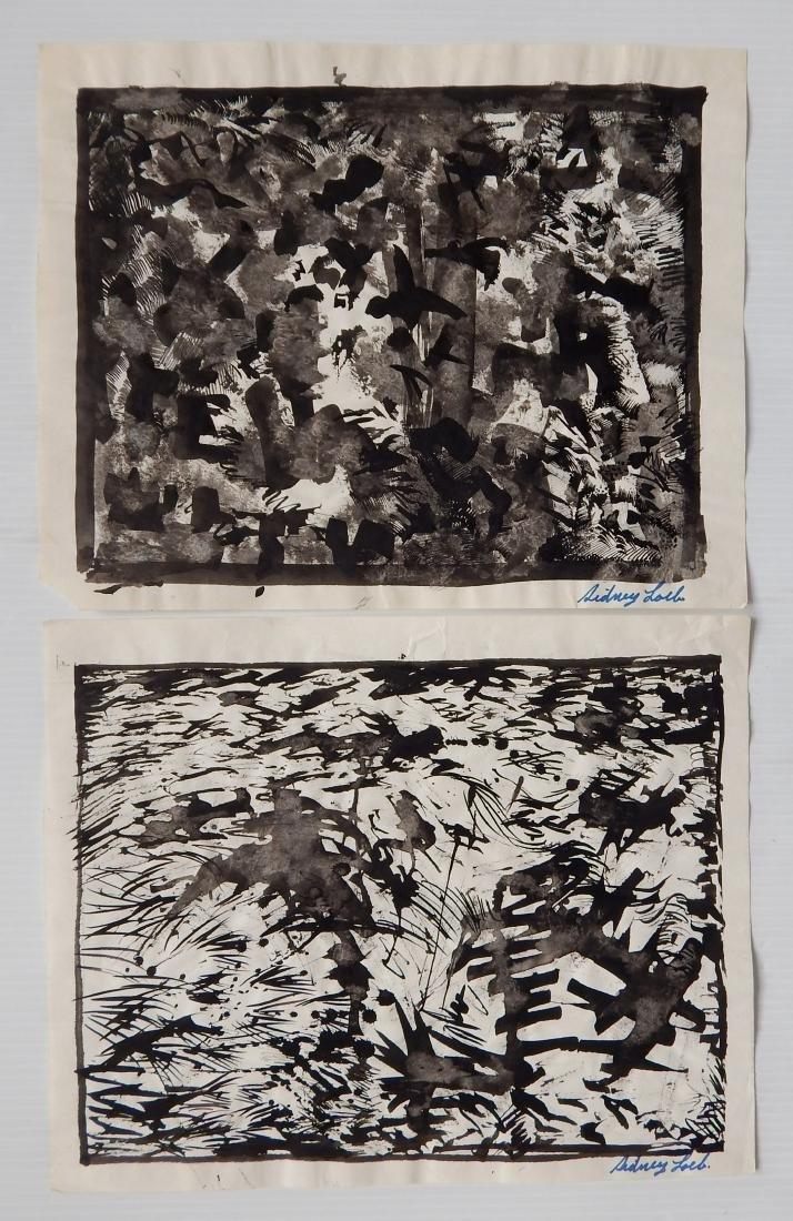 Sidney Loeb 14 works on paper - 2