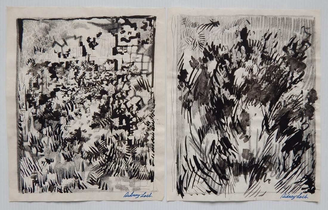 Sidney Loeb 14 works on paper - 3