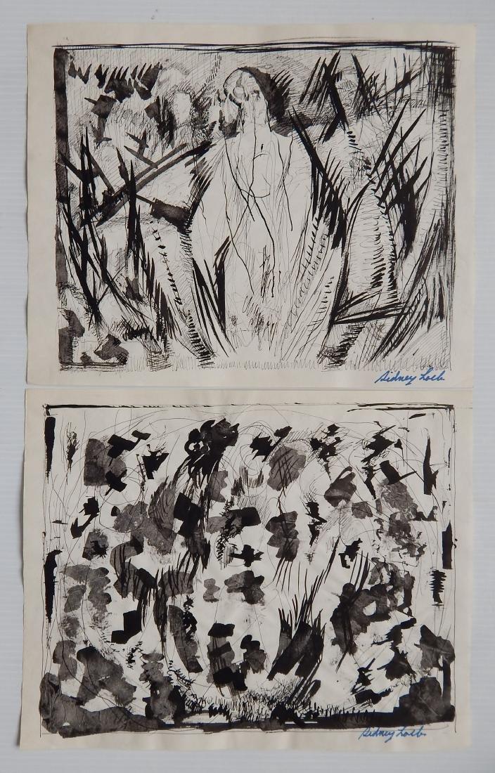 Sidney Loeb 14 works on paper - 4