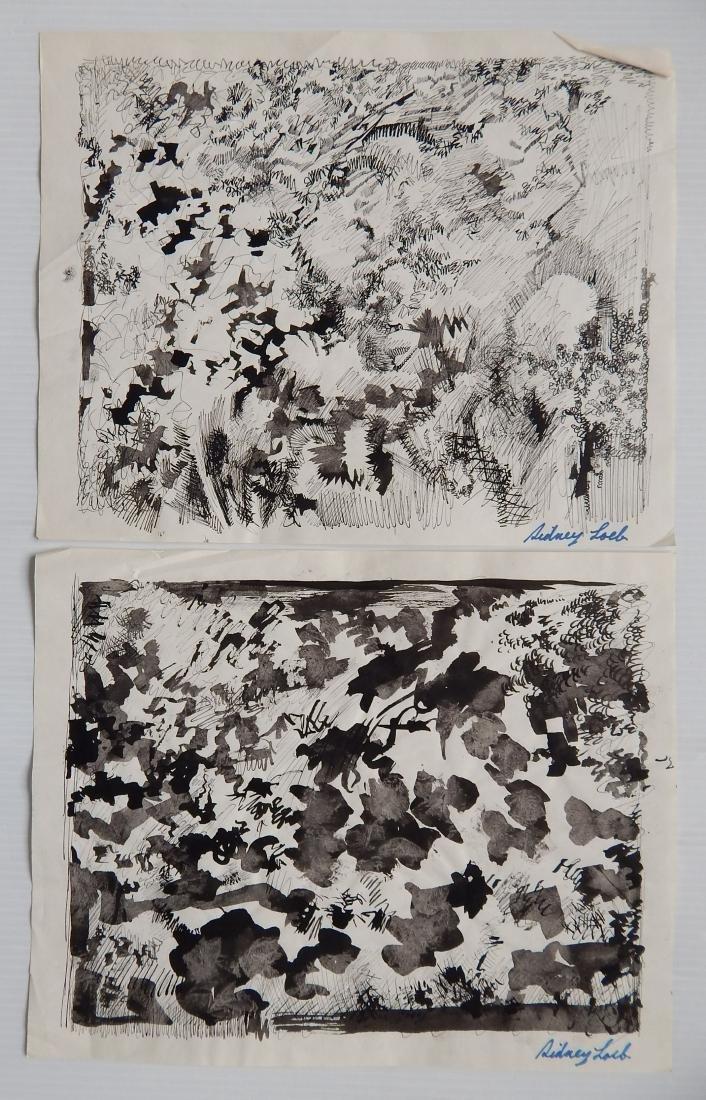 Sidney Loeb 14 works on paper - 5