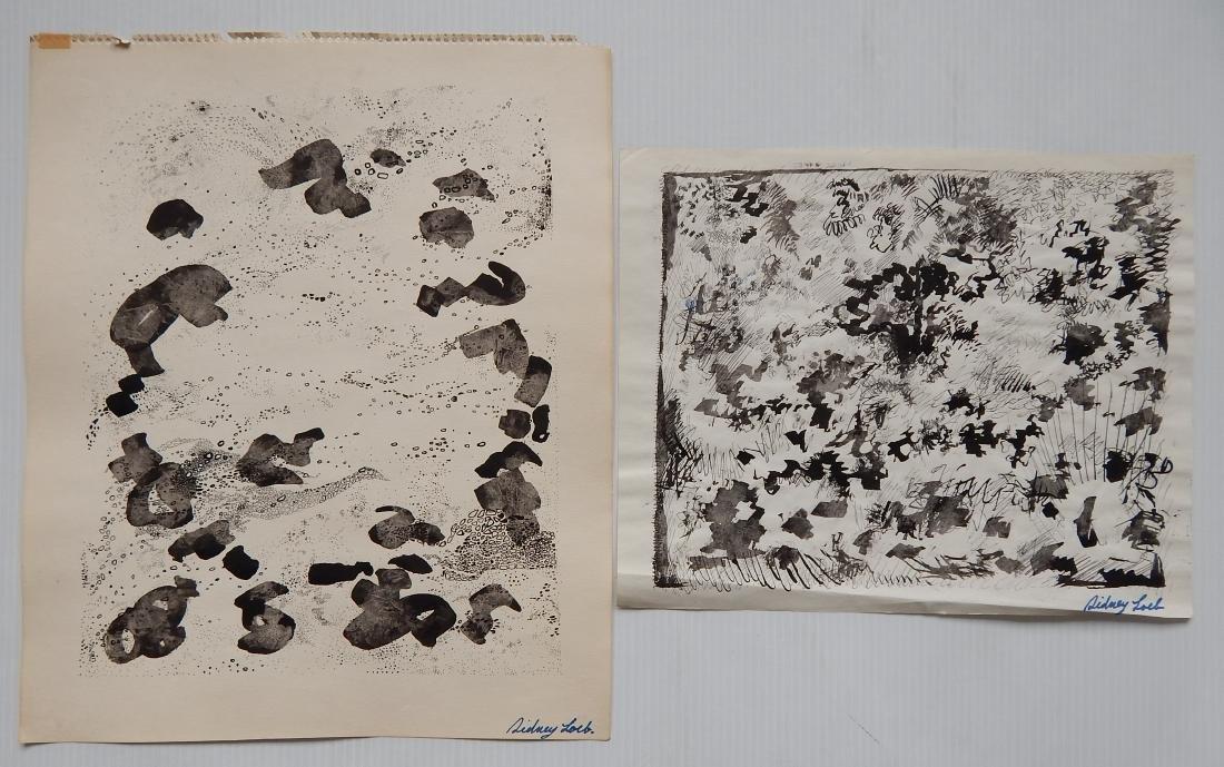 Sidney Loeb 14 works on paper - 6