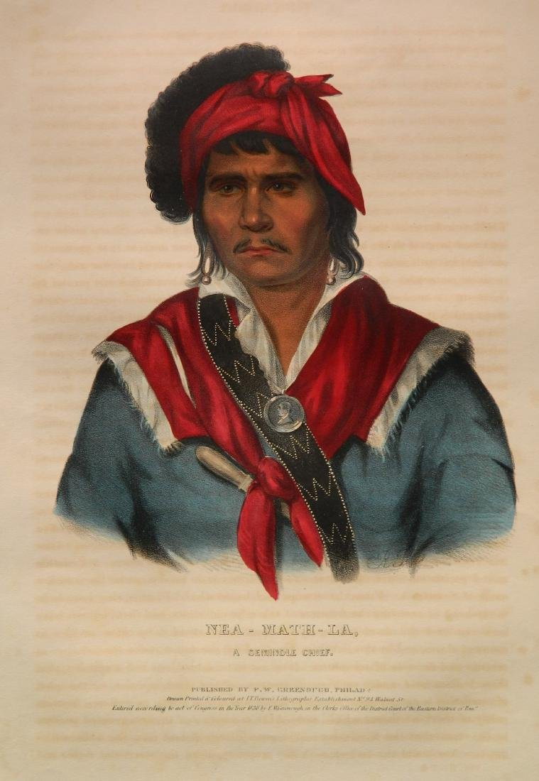 McKenny and Hall hand-colored lithograph