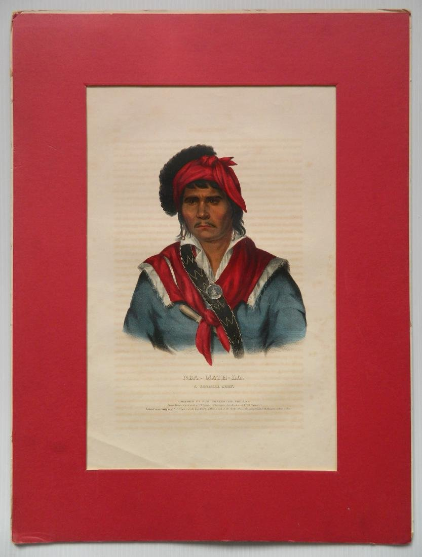 McKenny and Hall hand-colored lithograph - 2