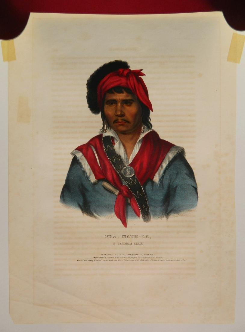 McKenny and Hall hand-colored lithograph - 3