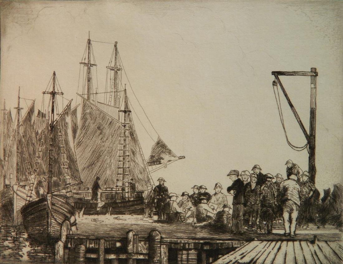 Carl Nordell etching