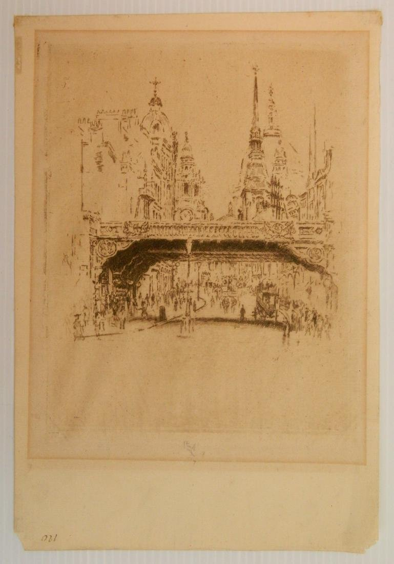 Joseph Pennell 3 works on paper - 4