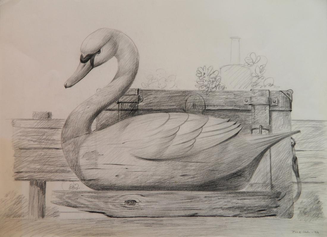 Paul Riba graphite