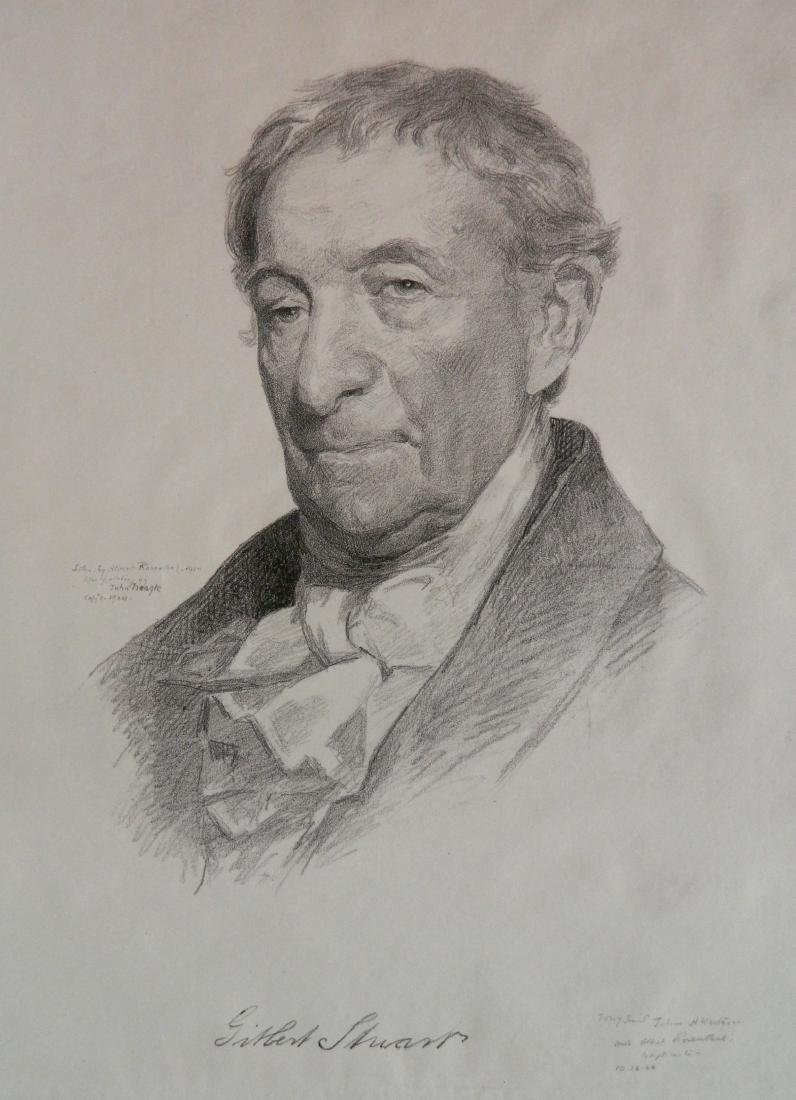 Albert Rosenthal lithograph