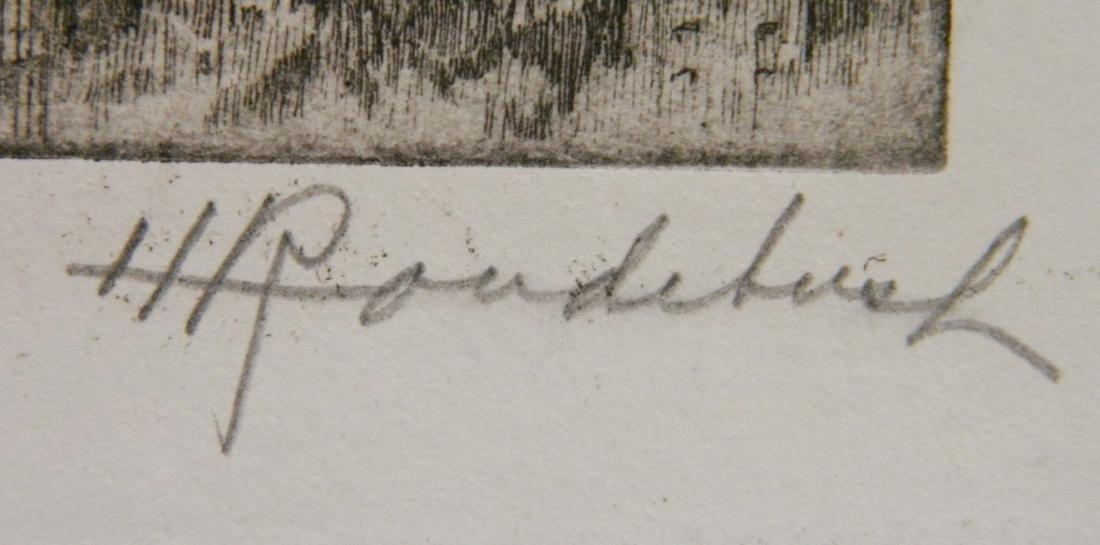 Harriet Roudebush 2 etchings - 4