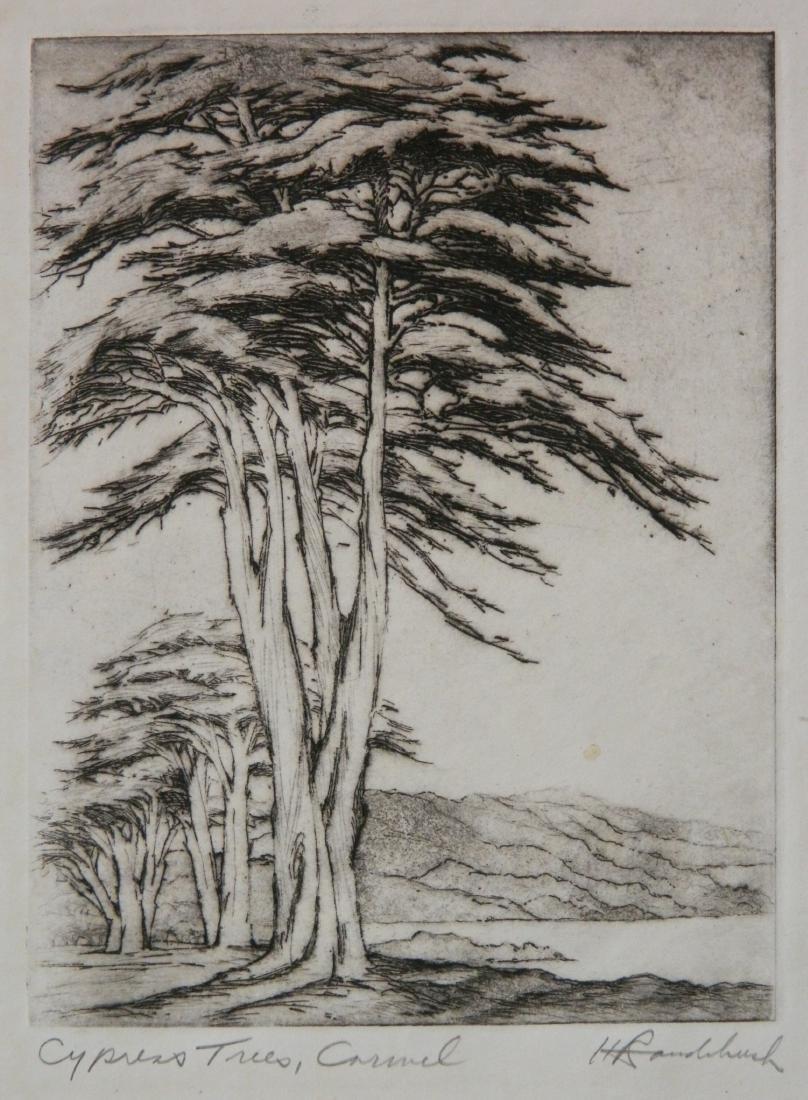 Harriet Roudebush 2 etchings - 5