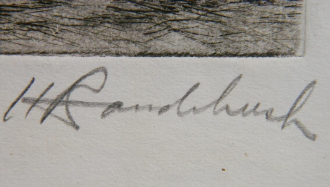 Harriet Roudebush 2 etchings - 6