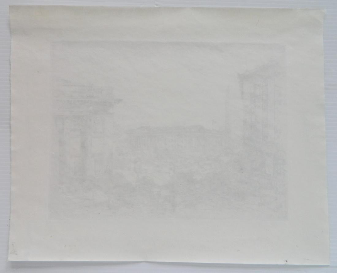 Anton Schutz etching - 4