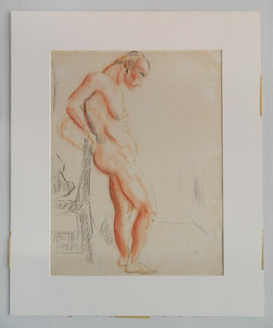 William Sommer ink and chalk - 2