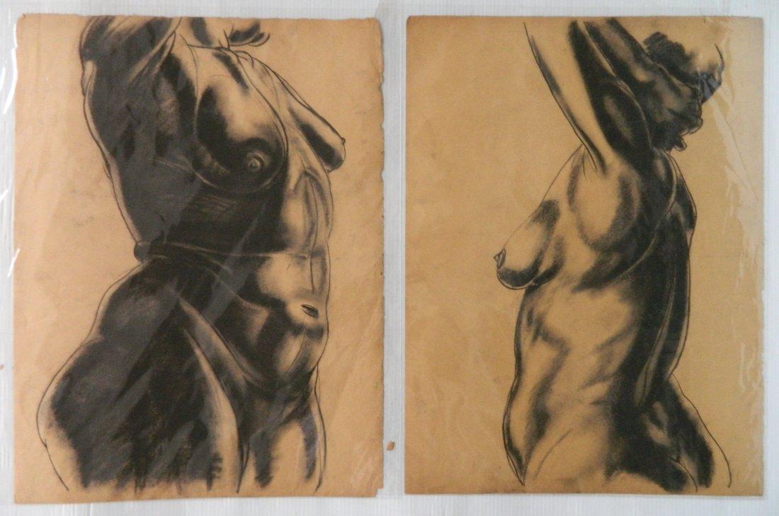 Paul B. Travis charcoal - 3