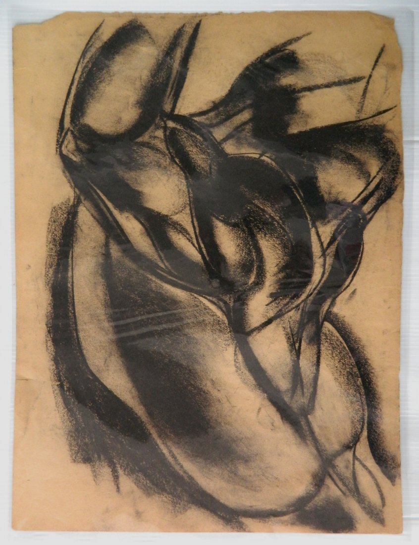 Paul B. Travis charcoal - 5