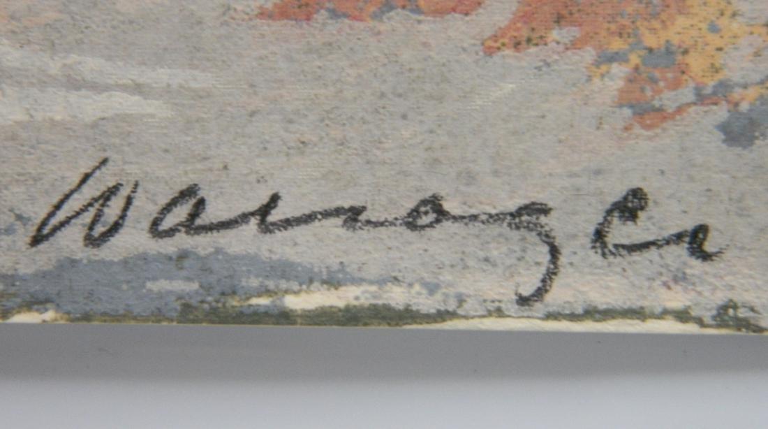 Hyman Warsager silkscreen - 3