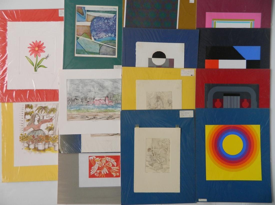 17 Contemporary prints