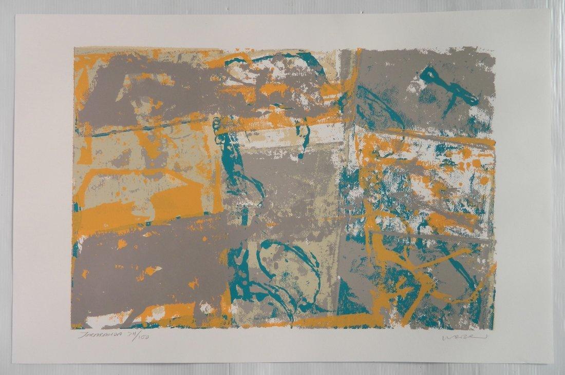 Walter Darby Bannard 4 silkscreens - 3