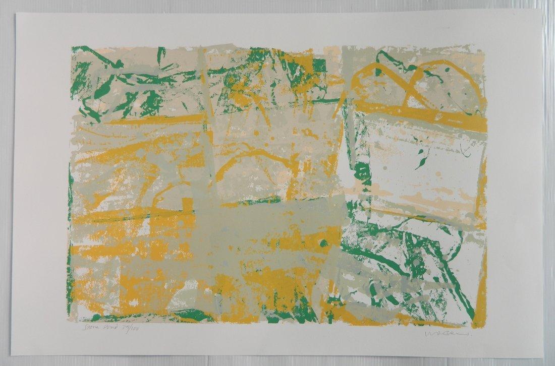Walter Darby Bannard 4 silkscreens - 5